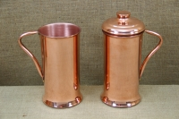 Copper Jug with Handle & Lid 2 Liters Third Depiction