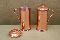 Copper Jug with Handle & Lid 2 Liters Fourth Depiction