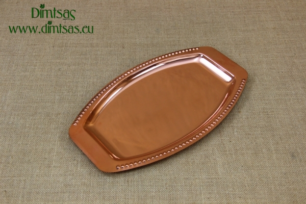 Copper Serving Tray Oval No2