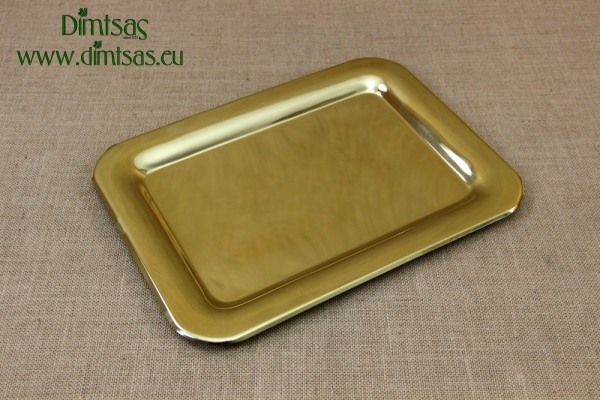 Brass Serving Tray Rectangle No2