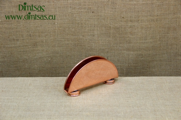 Copper Napkin Holder with Rod