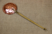 Copper Decorative Slotted Spoon Third Depiction