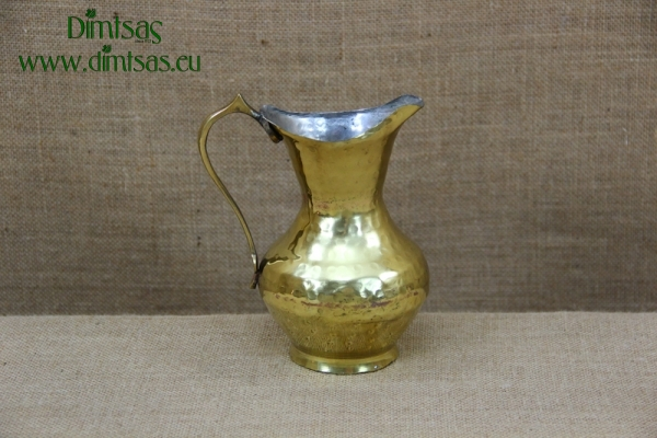 Brass Jug with Spout
