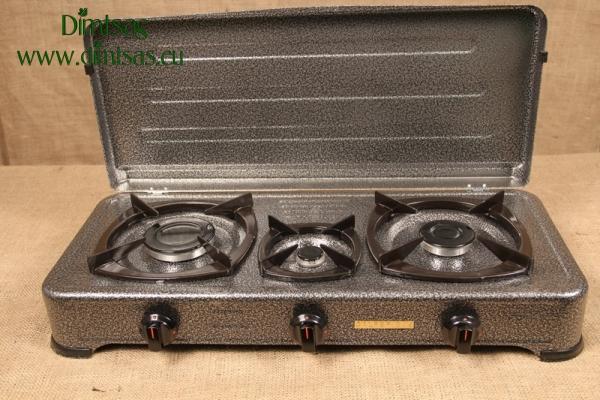 Συσκευή Υγραερίου CF Σφυρήλατη 1 Εστίας Καφέ