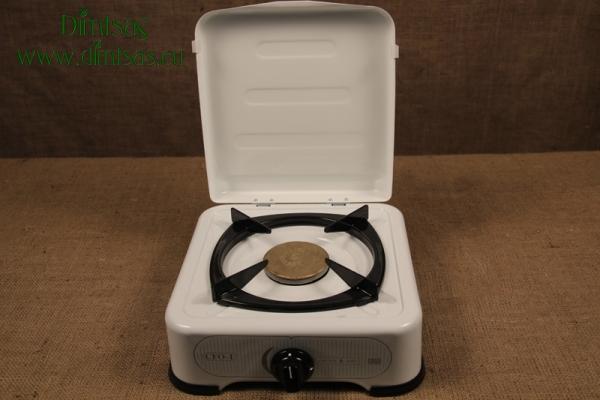 Συσκευή Υγραερίου Ardes Εμαγέ 2 1/2 Εστιών Λευκή
