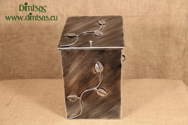 Ξυλοθήκη Μεσαία Φύλλα Ασημί