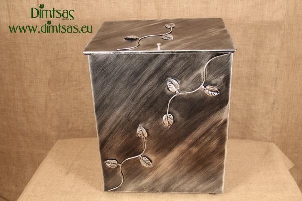 Ξυλοθήκη Γίγας Φύλλα Ασημί