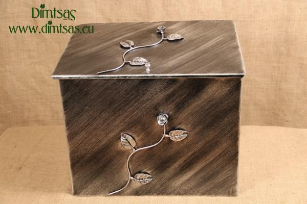 Ξυλοθήκη Μεγάλη Σβαρόφσκι Ασημί