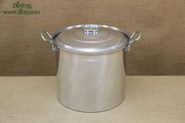 Aluminium Marmite - Cauldron No6 28 liters