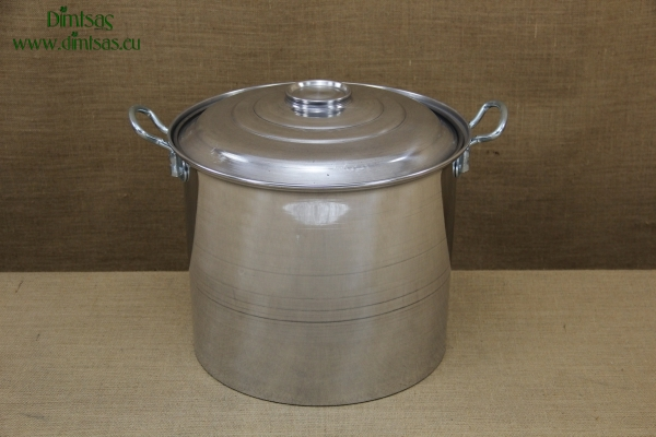 Aluminium Marmite - Cauldron No7 32 liters