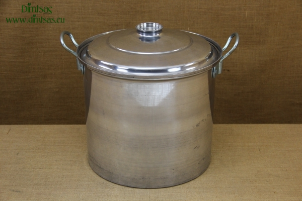Aluminium Marmite - Cauldron No8 37 liters