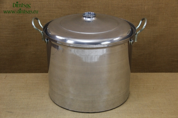 Aluminium Marmite - Cauldron No10 46 liters