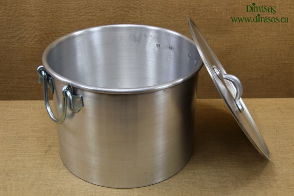 Aluminium Stock Pot 53.5x34 67 liters