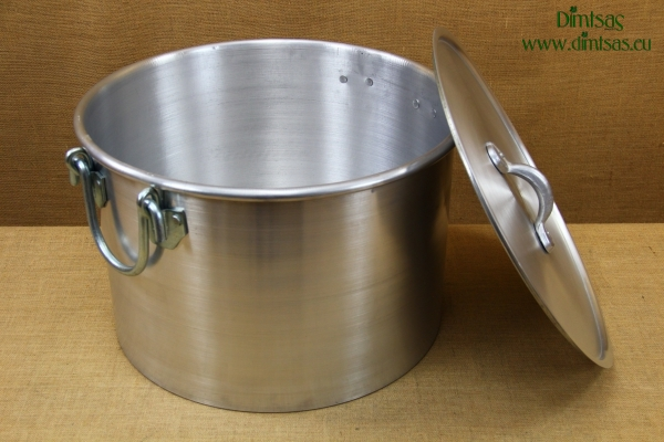 Aluminium Stock Pot 63x39 113 liters