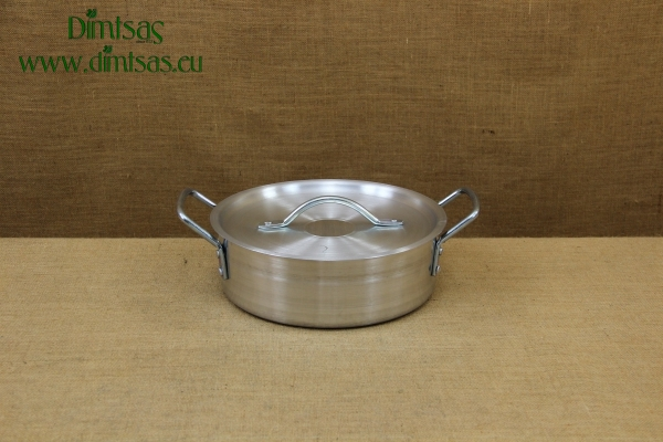Aluminium Round Baking Pan Professional No30 6.5 liters