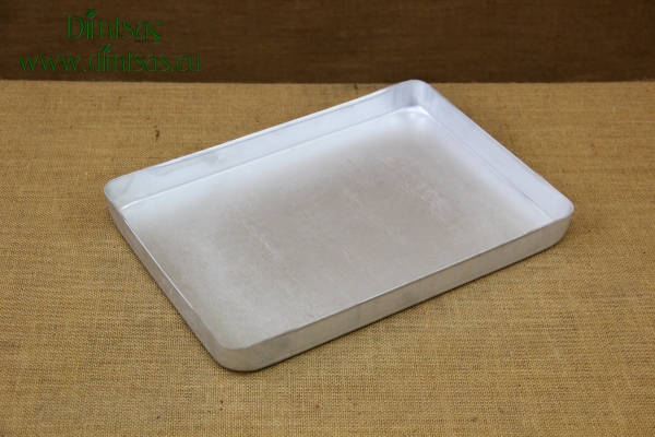 Aluminium Rectangular Roasting Pan Pressed Toughened No2