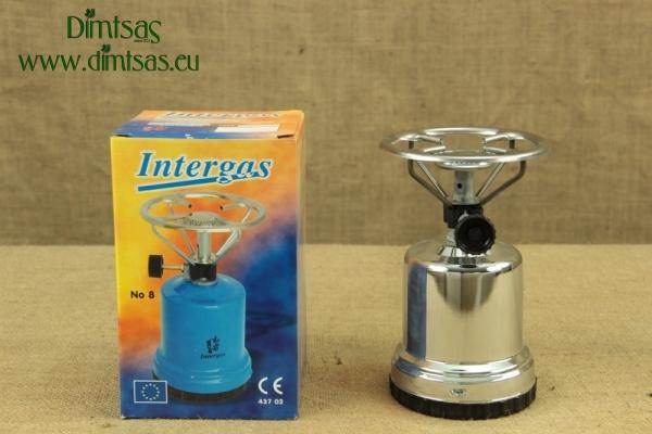 Καμινέτο Μεταλλικό INOX Intergas 190gr