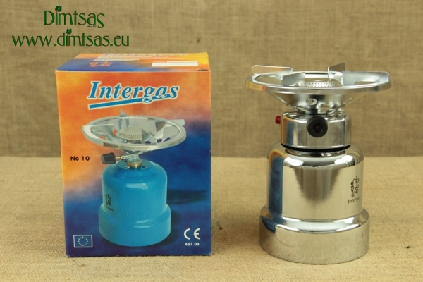 Καμινέτο Μεταλλικό INOX Intergas Piezo 500gr