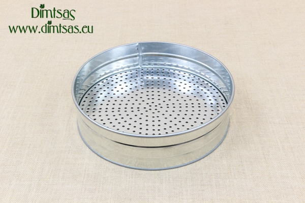 Sieve with 3 Screens Metallic 35 cm