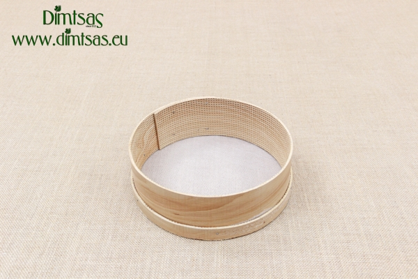 Sieve for Flour Wooden with Wire Screen 27 cm