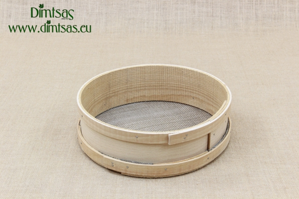 Sieve for Frumenty Wooden 29 cm with Holes 3x2 mm