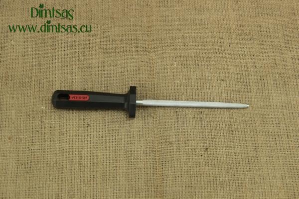 Μασάτι - Ακονιστήρι Μαχαιριών Επαγγελματικής Χρήσης Χρωμιομένο Νο2
