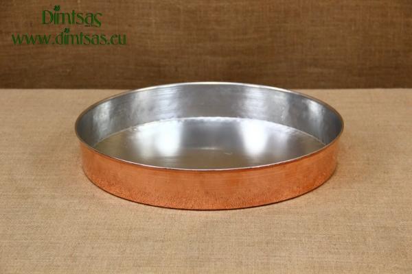 Copper Round Baking Pan No38