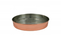 Copper Round Baking Pan No40 Fourteenth Depiction