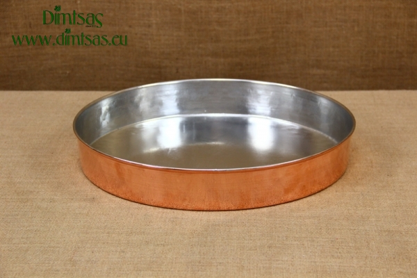 Copper Round Baking Pan No40