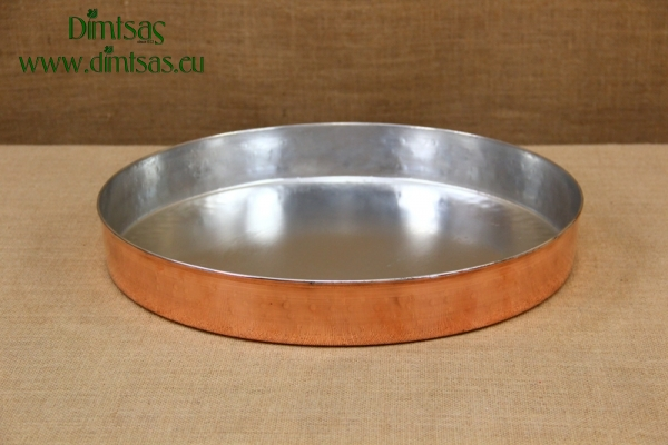 Copper Round Baking Pan No42