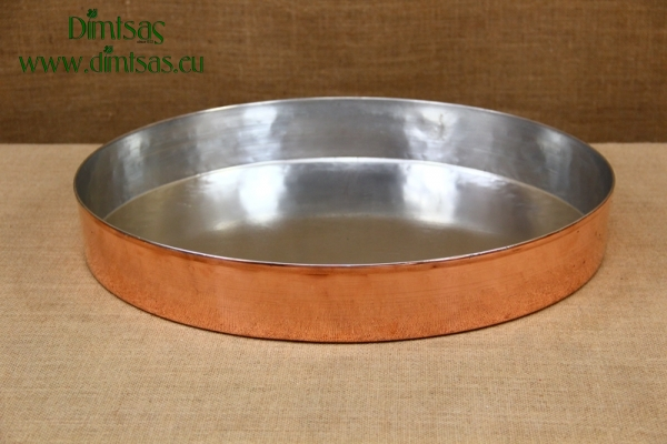 Copper Round Baking Pan No48