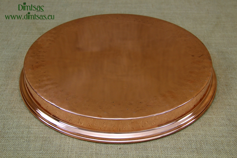 Copper Round Shallow Baking Pan No36