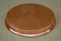 Copper Round Shallow Baking Pan No40 Third Depiction