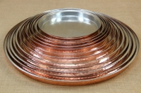 Copper Round Shallow Baking Pan No40 Fourth Depiction