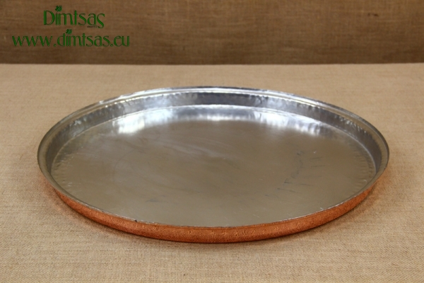Copper Round Shallow Baking Pan No56