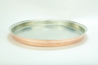 Copper Round Shallow Baking Pan No58 Eleventh Depiction