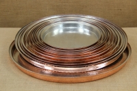 Copper Round Shallow Baking Pan No58 Seventh Depiction