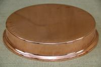 Copper Round Shallow Baking Pan No60 Third Depiction