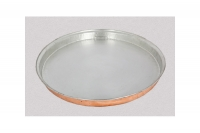 Copper Round Shallow Baking Pan No62 Twelfth Depiction