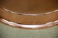 Copper Round Shallow Baking Pan No62 Second Depiction