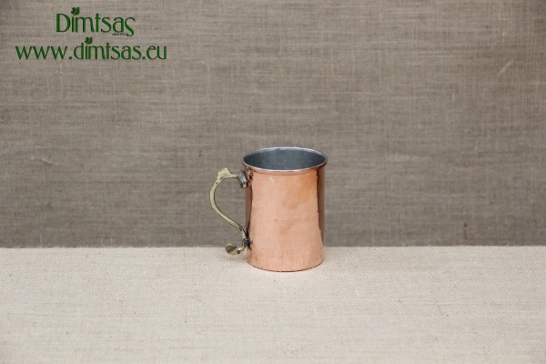 Copper Round Shallow Baking Pan No58