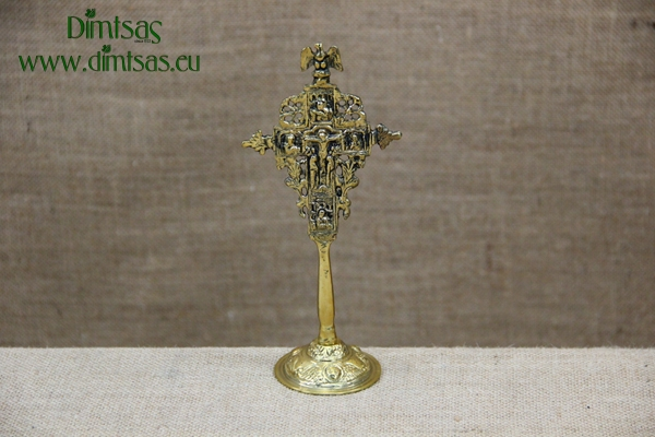 Bronze Nickel-Plated Blessing Cross