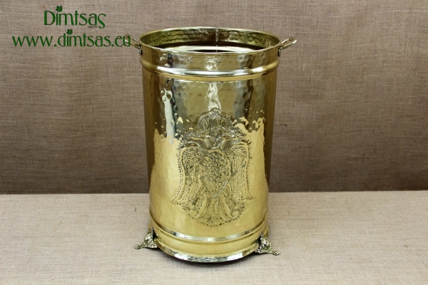 Used Candles Container Brass