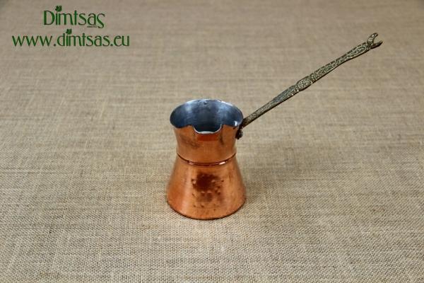 Copper Coffee Pot with Wide Spout No4