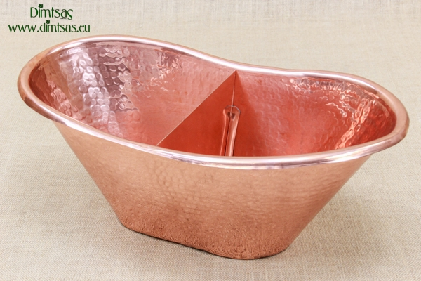 Copper Wine Cooler with a Divider