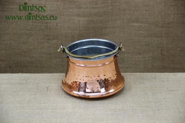 Copper Cauldron - Bakratsi Hammered No1