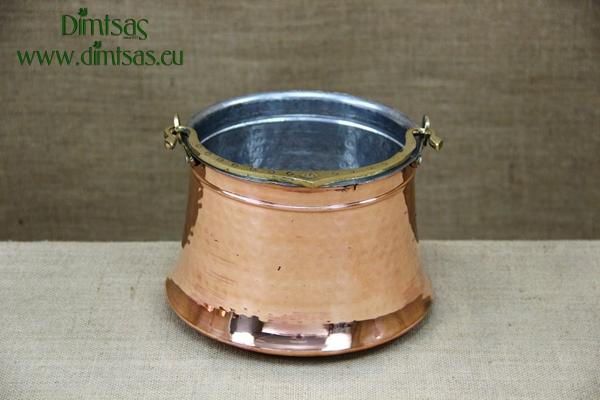 Copper Cauldron - Bakratsi Hammered No3