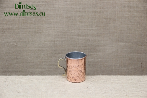 Copper Wine Jug Engraved 300 ml