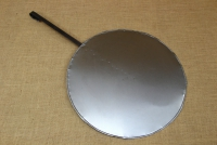 Round Metal Griddle No50 with Long Handle First Depiction
