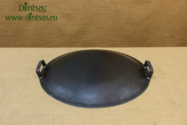 Round Metal Griddle No50 with Long Handle